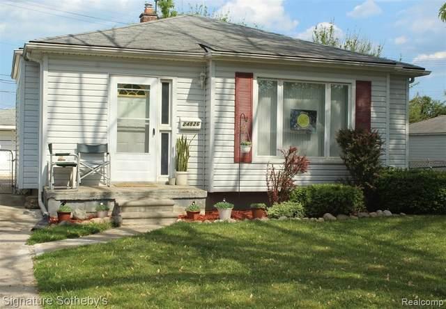 24826 Brittany Ave, Eastpointe, MI 48021 (MLS #2210039048) :: Kelder Real Estate Group