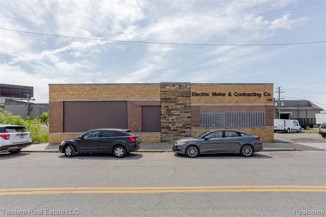 1133 W Baltimore St, Detroit, MI 48202 (MLS #2210041256) :: Kelder Real Estate Group