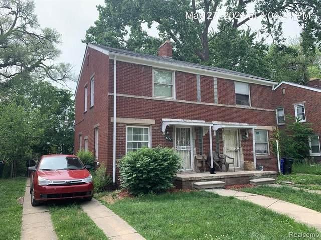 8233 Manor St, Detroit, MI 48204 (MLS #2210041613) :: Kelder Real Estate Group