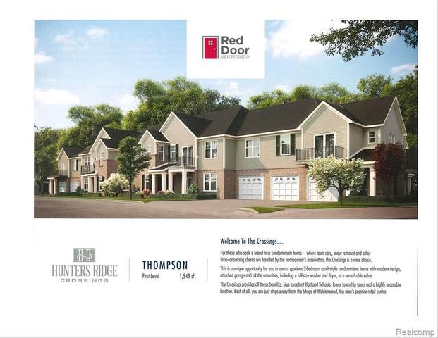 9900 Ridge Run St Unit#32-Bldg#4, Howell, MI 48855 (MLS #2210043123) :: The BRAND Real Estate
