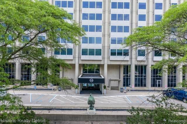 1300 E Lafayette #1612, Detroit, MI 48207 (MLS #2210042360) :: The BRAND Real Estate