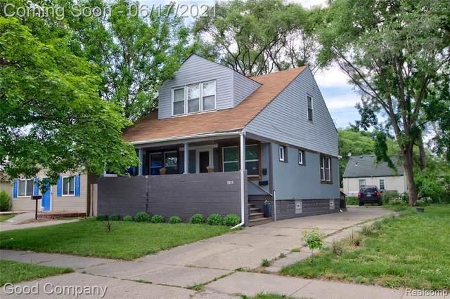 1019 E Muir Ave, Hazel Park, MI 48030 (MLS #2210044020) :: Kelder Real Estate Group
