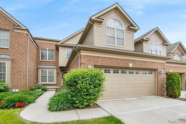 44945 S Broadmoor Cir, Northville, MI 48168 (MLS #2210043505) :: The BRAND Real Estate