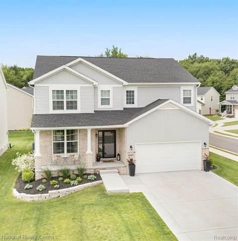 2227 Crystal Crossing Dr, Howell, MI 48843 (MLS #2210044233) :: The BRAND Real Estate