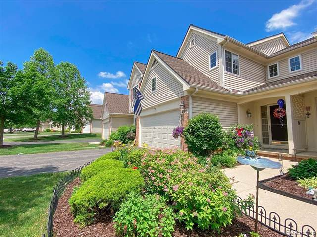 453 Lilly View Crt Unit#61, Howell, MI 48843 (MLS #2210043158) :: The BRAND Real Estate