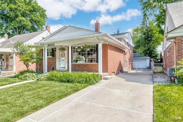 20333 Carlysle St, Dearborn, MI 48124 (MLS #2210044912) :: The BRAND Real Estate