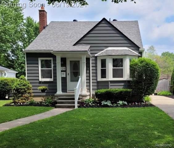1928 Phillips Ave, Berkley, MI 48072 (MLS #2210045211) :: Kelder Real Estate Group