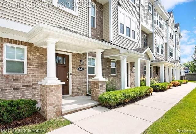 1041 N Sherman Dr Unit E, Royal Oak, MI 48067 (MLS #2210046161) :: Kelder Real Estate Group