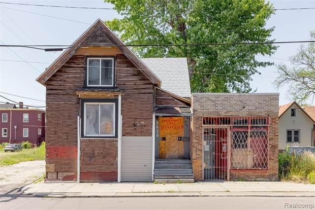 3620 Porter St, Detroit, MI 48216 (MLS #2210047906) :: The Tom Lipinski Team at Keller Williams Lakeside Market Center