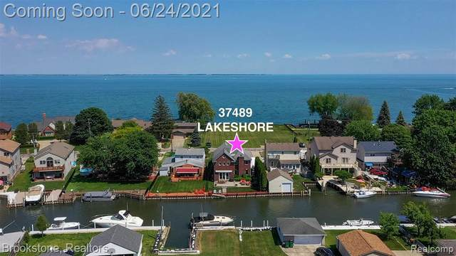 37489 Lakeshore Dr, Harrison Twp, MI 48045 (MLS #2210043503) :: The Tom Lipinski Team at Keller Williams Lakeside Market Center
