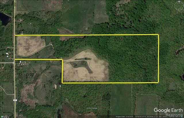 1395 Hadley Rd, Lapeer, MI 48446 (MLS #2210047998) :: Kelder Real Estate Group