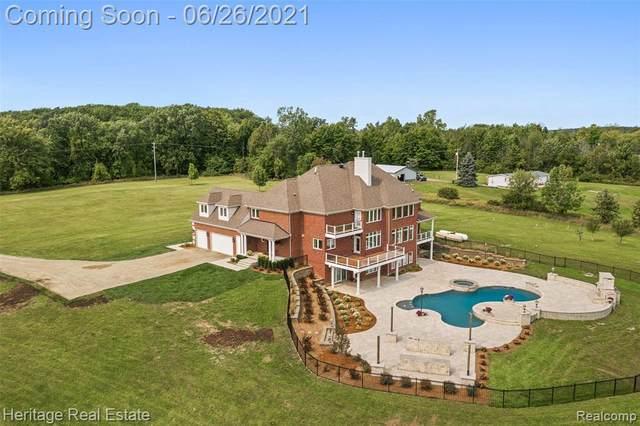 4345 Thornville Rd, Metamora, MI 48455 (MLS #2210049002) :: Kelder Real Estate Group