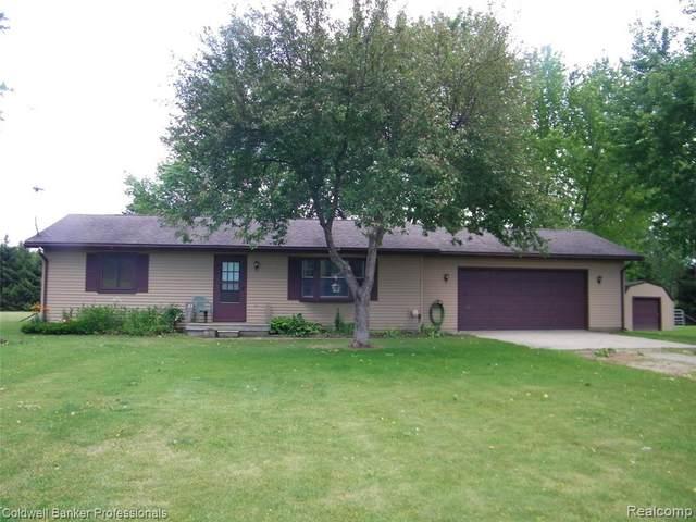 5218 Burnside Rd, North Branch, MI 48461 (MLS #2210049133) :: Kelder Real Estate Group