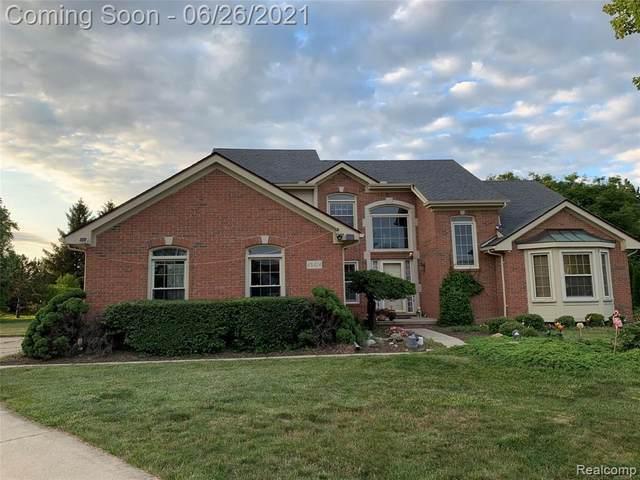 45414 Harriet Crt, Canton, MI 48188 (MLS #2210049236) :: Kelder Real Estate Group