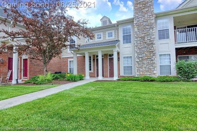28205 Oakmonte Cir E, New Hudson, MI 48165 (MLS #2210049396) :: Kelder Real Estate Group