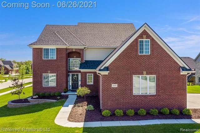 24042 W Enclave Dr, South Lyon, MI 48178 (MLS #2210049464) :: Kelder Real Estate Group
