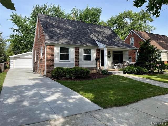 4715 Groveland Ave, Royal Oak, MI 48073 (MLS #2210049638) :: Kelder Real Estate Group