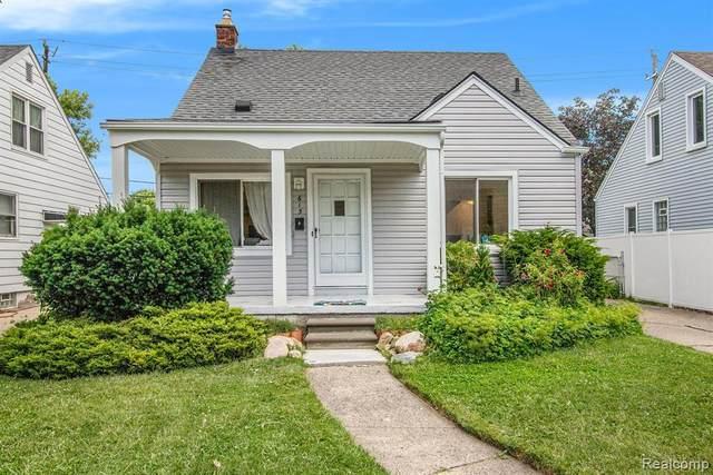 615 S Campbell Rd, Royal Oak, MI 48067 (MLS #2210049645) :: Kelder Real Estate Group