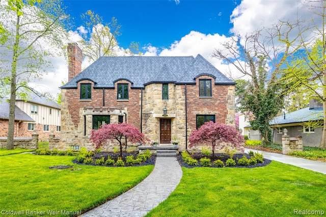 25 Hampton Rd, Grosse Pointe Shores, MI 48236 (MLS #2210050420) :: Kelder Real Estate Group