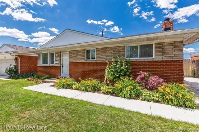 1119 Kenilworth Pl, Clawson, MI 48017 (MLS #2210051928) :: Kelder Real Estate Group