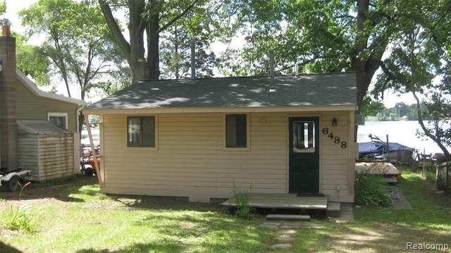 6488 Buckshore Dr, Whitmore Lake, MI 48189 (MLS #2210052141) :: Kelder Real Estate Group