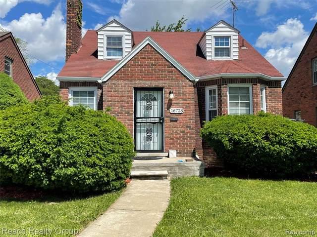 16728 Gilchrist St, Detroit, MI 48235 (MLS #2210052489) :: Kelder Real Estate Group