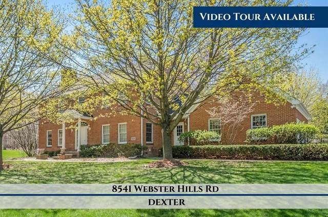 8541 Webster Hills Rd, Dexter, MI 48130 (MLS #3282350) :: Kelder Real Estate Group
