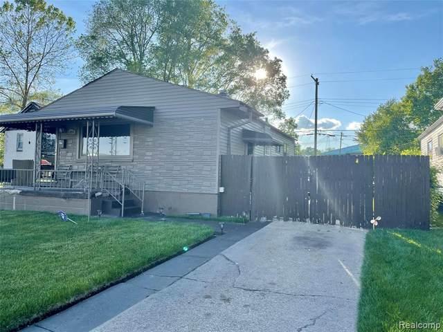 3894 10TH, Ecorse, MI 48229 (MLS #2210054391) :: Kelder Real Estate Group
