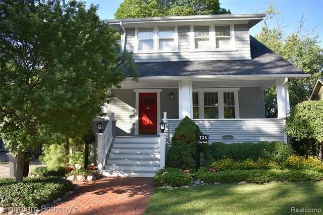 735 Ann St, Birmingham, MI 48009 (MLS #2210054423) :: Kelder Real Estate Group