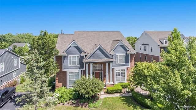 6186 Stonewood Drive, Clarkston, MI 48346 (MLS #2210054436) :: Kelder Real Estate Group