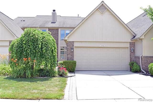 14958 Stoney Brook Dr Unit#105-Bldg#3, Shelby Twp, MI 48315 (MLS #2210054648) :: The BRAND Real Estate