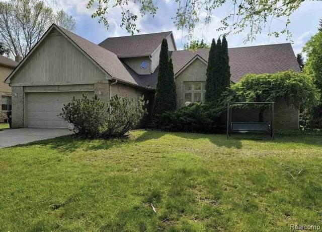 1451 Chevy Circuit, Rochester Hills, MI 48306 (MLS #2210055076) :: Kelder Real Estate Group