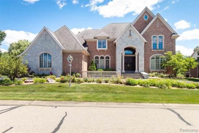 3677 Cedar Brook Dr, Rochester Hills, MI 48309 (MLS #2210054767) :: Kelder Real Estate Group