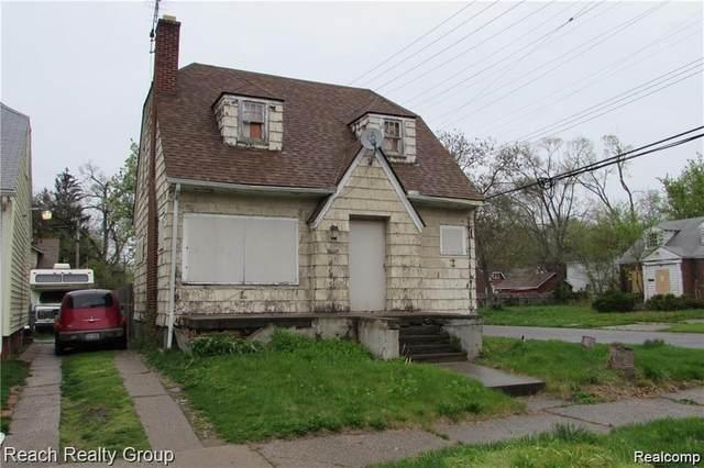 21402 Santa Clara, Detroit, MI 48219 (MLS #2210055904) :: Kelder Real Estate Group