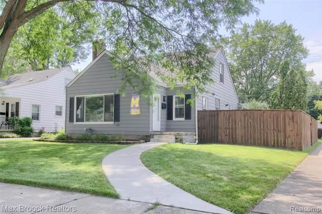 2879 Tyler Ave, Berkley, MI 48072 (MLS #2210056571) :: Kelder Real Estate Group