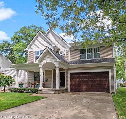 1201 Cherokee Ave, Royal Oak, MI 48067 (MLS #2210057822) :: Kelder Real Estate Group