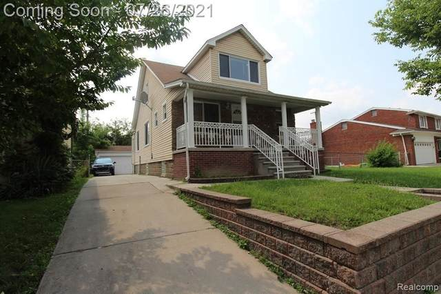 4731 Palmer St, Dearborn, MI 48126 (MLS #2210058321) :: The BRAND Real Estate