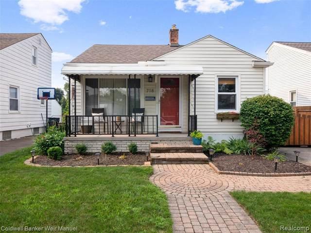 718 Dewey St, Royal Oak, MI 48067 (MLS #2210059587) :: Kelder Real Estate Group