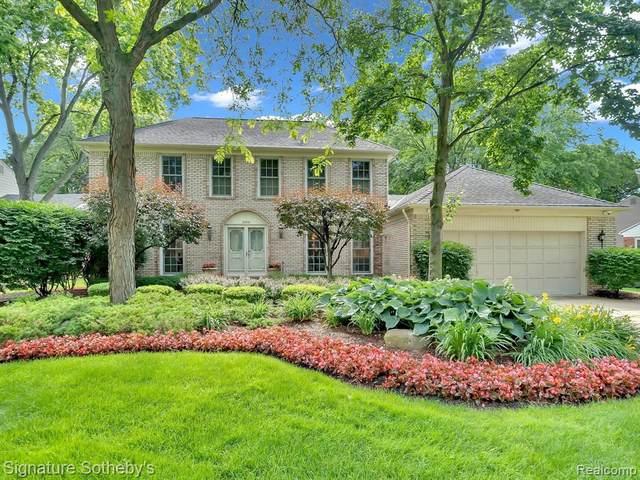 2888 Cedar Ridge Dr, Troy, MI 48084 (MLS #2210059921) :: Kelder Real Estate Group