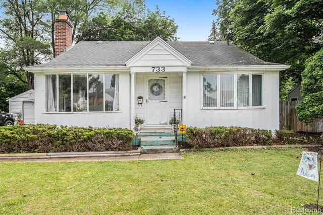 733 Hubbard Ave, Flint, MI 48503 (MLS #2210060124) :: Kelder Real Estate Group