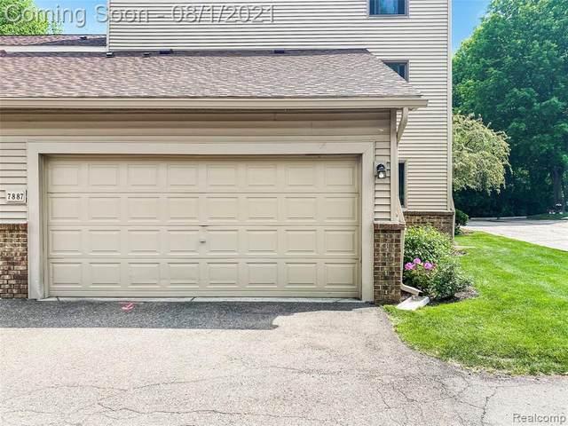7887 Woodingham, West Bloomfield, MI 48322 (MLS #2210060756) :: Kelder Real Estate Group