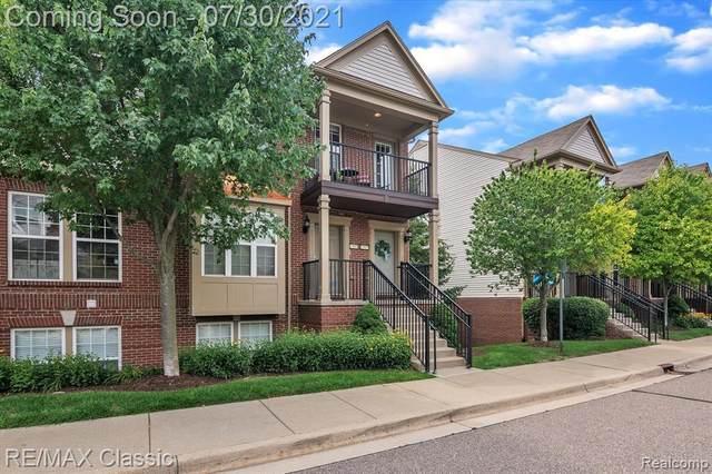 27975 Hopkins Dr Unit#109-Bldg#2, Novi, MI 48377 (MLS #2210060861) :: Kelder Real Estate Group