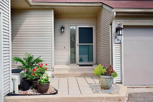 561 Harrow Crt Unit#38-Bldg#8, Rochester Hills, MI 48307 (MLS #2210060893) :: Kelder Real Estate Group