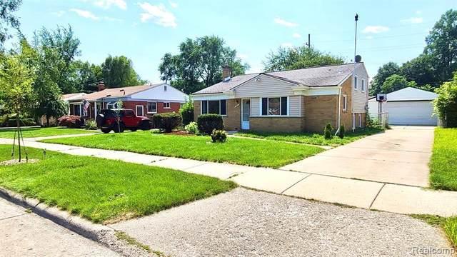 19823 Weyher St, Livonia, MI 48152 (MLS #2210060869) :: Kelder Real Estate Group