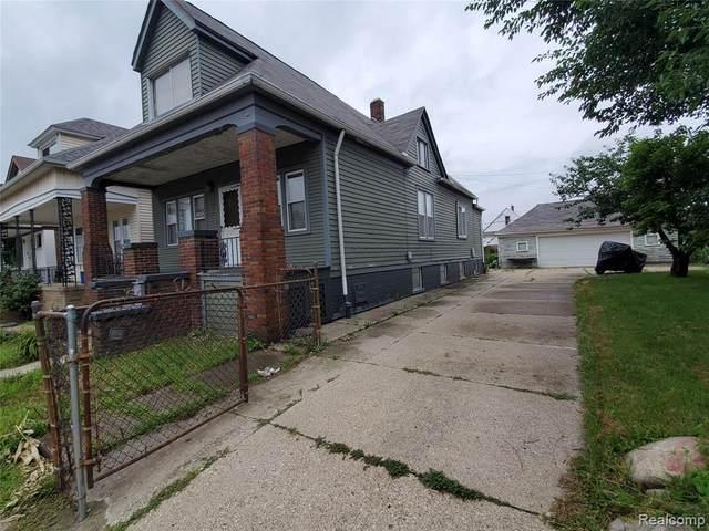 3875 Belmont St, Hamtramck, MI 48212 (MLS #2210061013) :: Kelder Real Estate Group