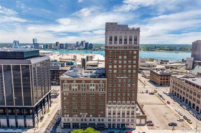 525 W Lafayette Blvd Apt Unit#19D, Detroit, MI 48226 (MLS #2210059720) :: Kelder Real Estate Group