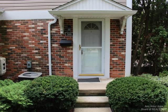 2606 Fenwick Ct #32, Ann Arbor, MI 48104 (MLS #3283048) :: The BRAND Real Estate