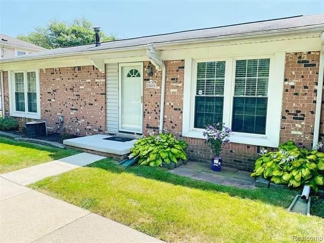 28415 Longmeadow Lane, Brownstown Twp, MI 48183 (MLS #2210063747) :: The BRAND Real Estate