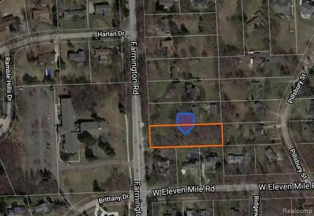 00000 Farmington Rd, Farmington Hills, MI 48334 (MLS #2210064969) :: The BRAND Real Estate