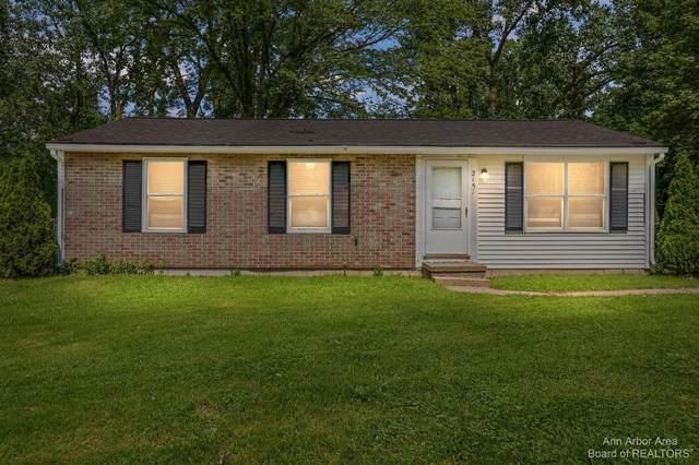 2157 E Eden Ct, Ann Arbor, MI 48108 (MLS #3283228) :: Kelder Real Estate Group
